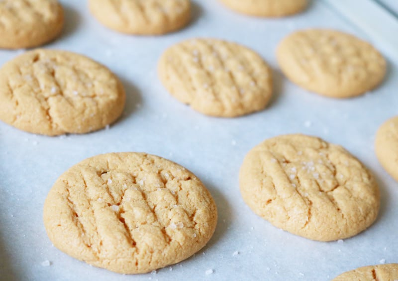 The sea salt gives this cookie a bit more crunch to every bite.