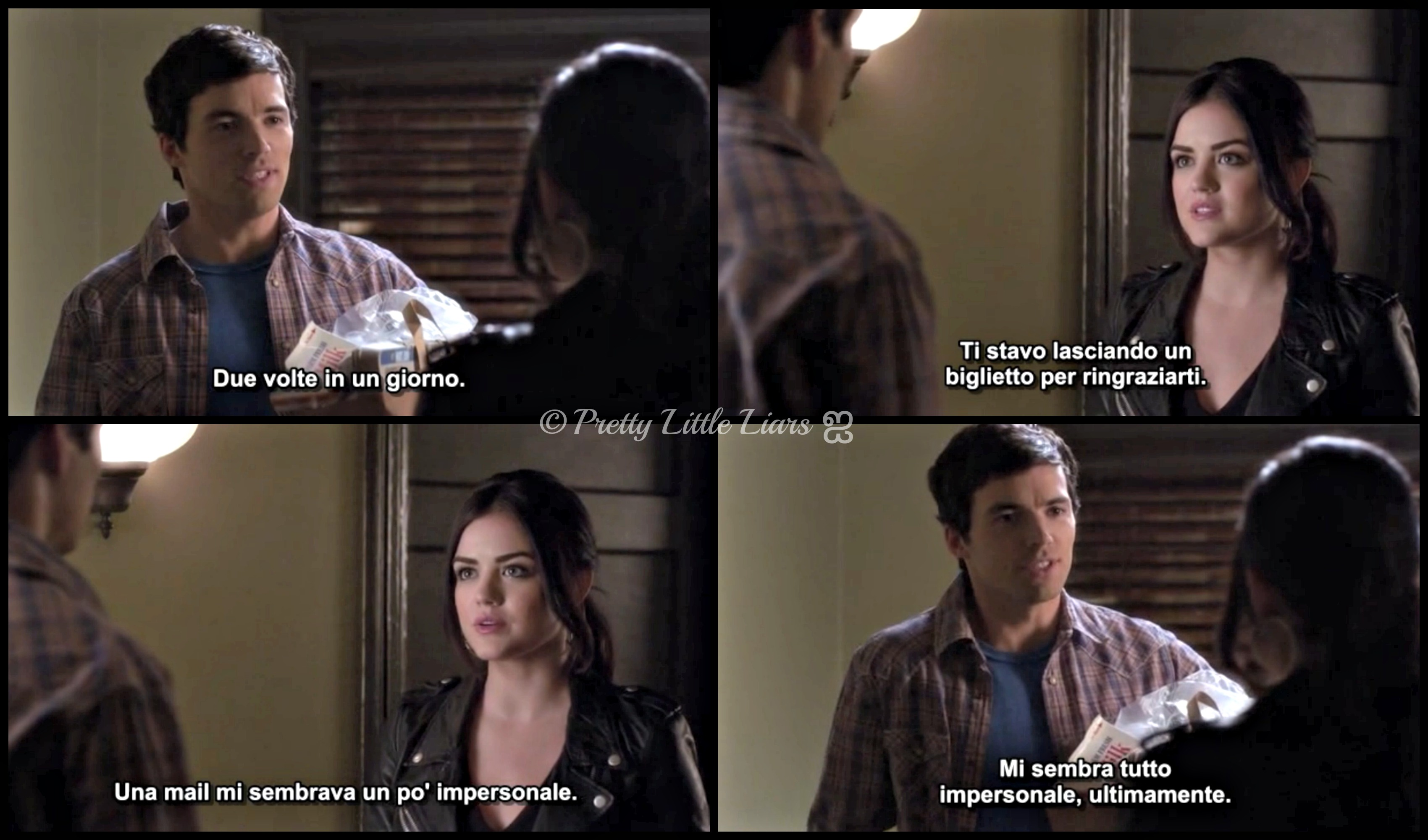 Ezra  Aria  4x07  Pretty Little Liars