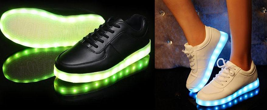finest selection a1e75 b9f19 Schuhe Leuchtende Sohle