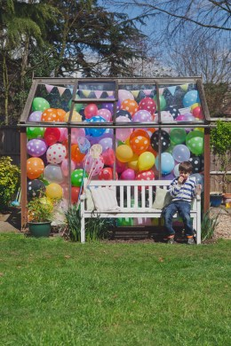 Greenhouse Full of Balloons
