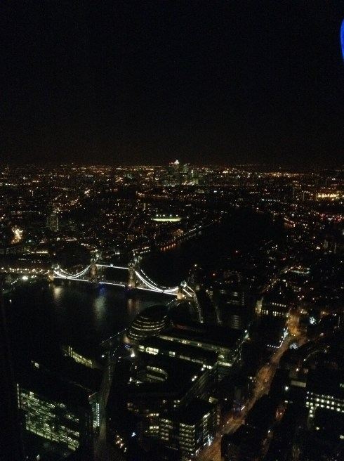 vue londres shard