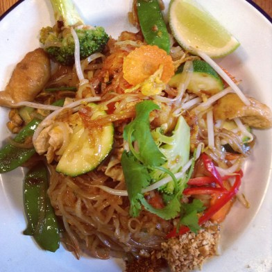 rosas thai cafe londres pad thai