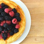 Great British Bake Off 2015 #4: Cheesecake au citron et fruits rouges