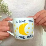 [DIY] Mug de St Valentin – I love you to the moon and back