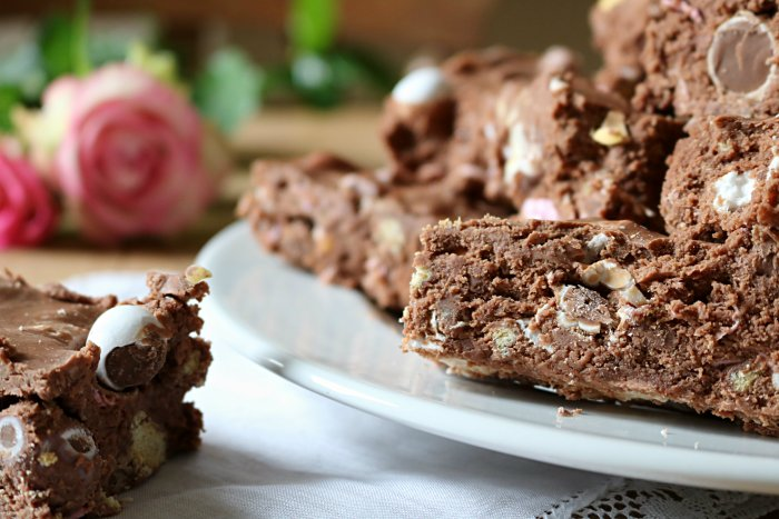 recette Easter rocky road