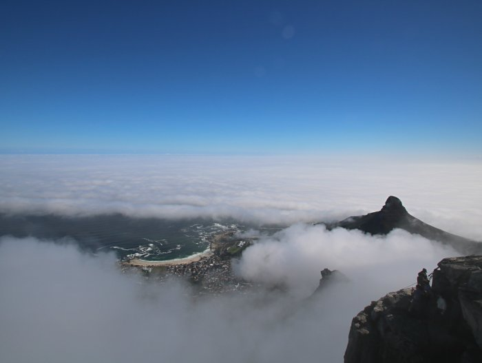 grimper table mountain a cape town