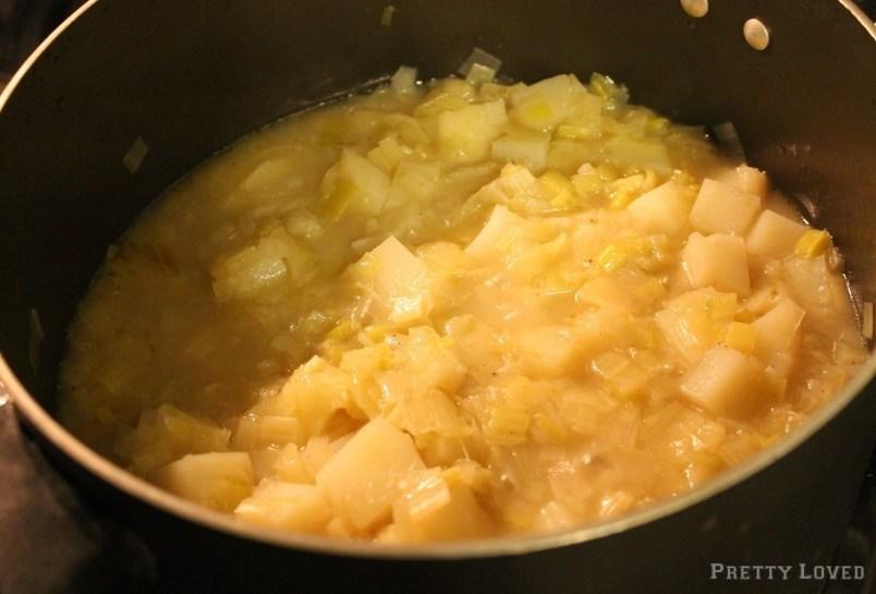 leeks-cooking