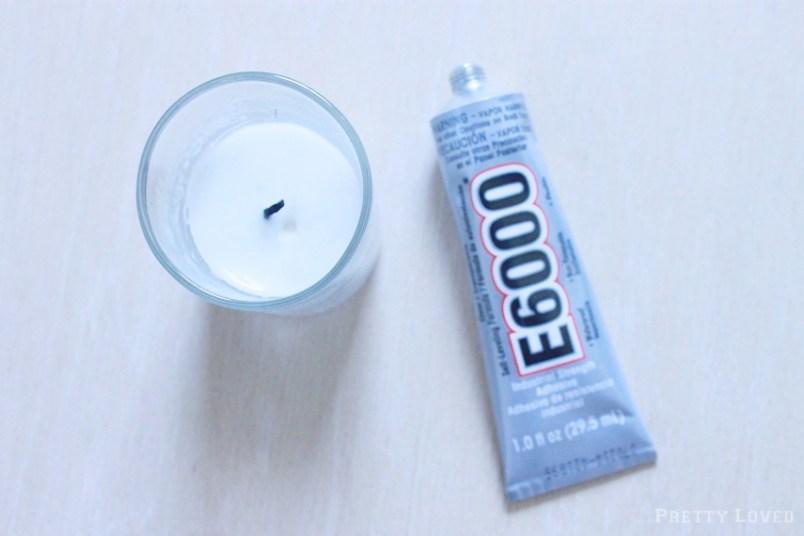 candle-and-e6000