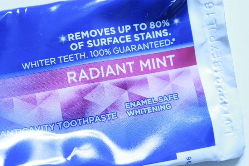 Crest 3D White Toothpaste Radiant Mint