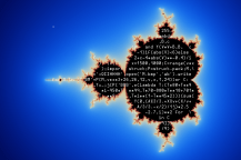 http://preshing.com/20110926/high-resolution-mandelbrot-in-obfuscated-python/