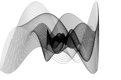 Harmonograph by Alan Richmond