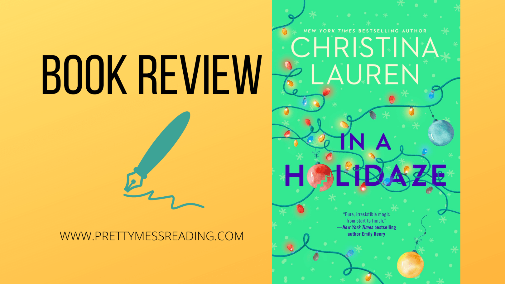 in a holidaze book review