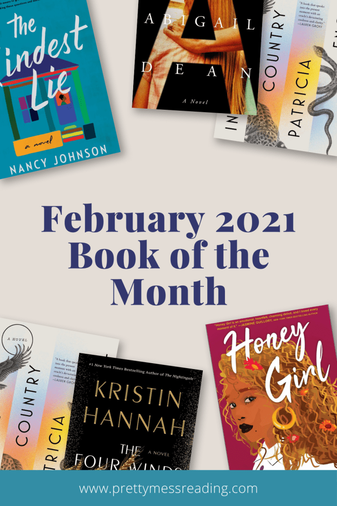 february 2021 book of the month