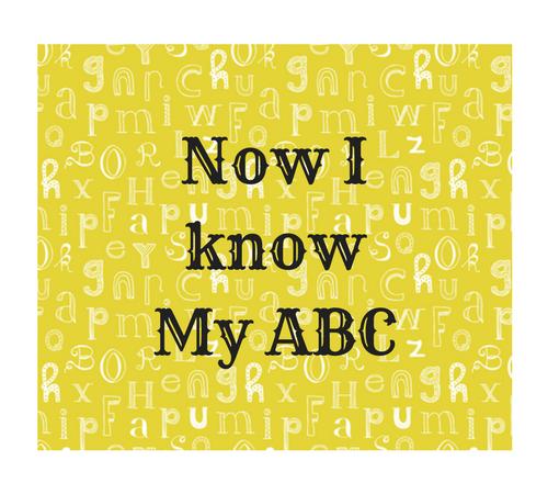 Now I know My ABC pretty mumma says surbhi mahobia