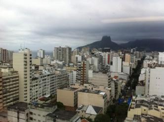 birds' eye view of Rio de Janeiro