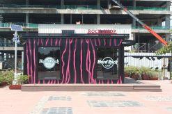 The hard rock café in Kota Kinabalu, Malaysia