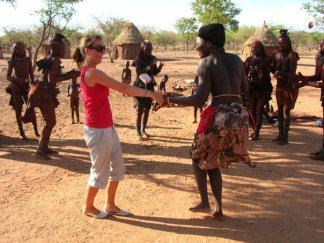Dancing with the Himba
