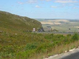 The drive to Hermanus