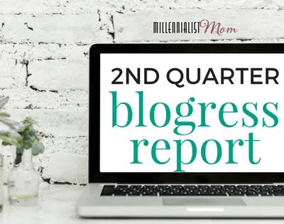 Second Quarter Blogress Report