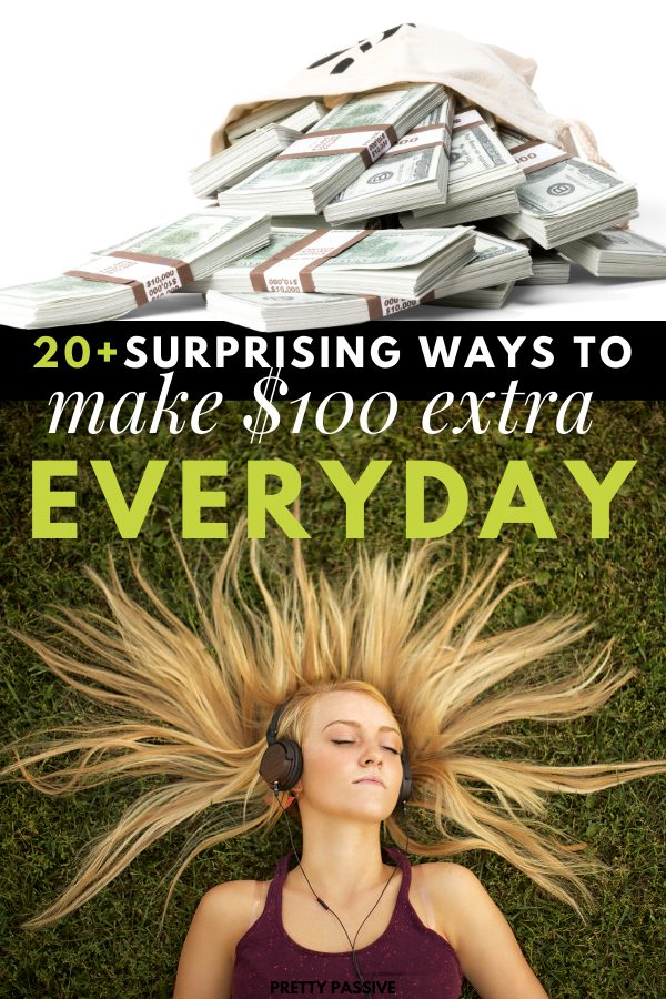 over 20 ways to make an extra $100 a day - christmas shopping be damned! making extra money on the side is more possible than ever