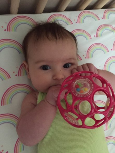 the o-ball hack for breastfed babies who won't take a bottle
