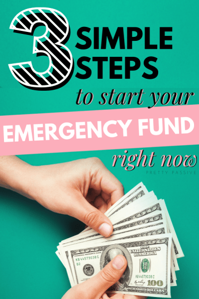 simplest steps to start an emergency fund today - how to start saving and build net worth with the easiest budgeting tricks in the book