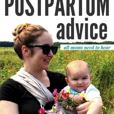 Sanity Saving Postpartum PSAs