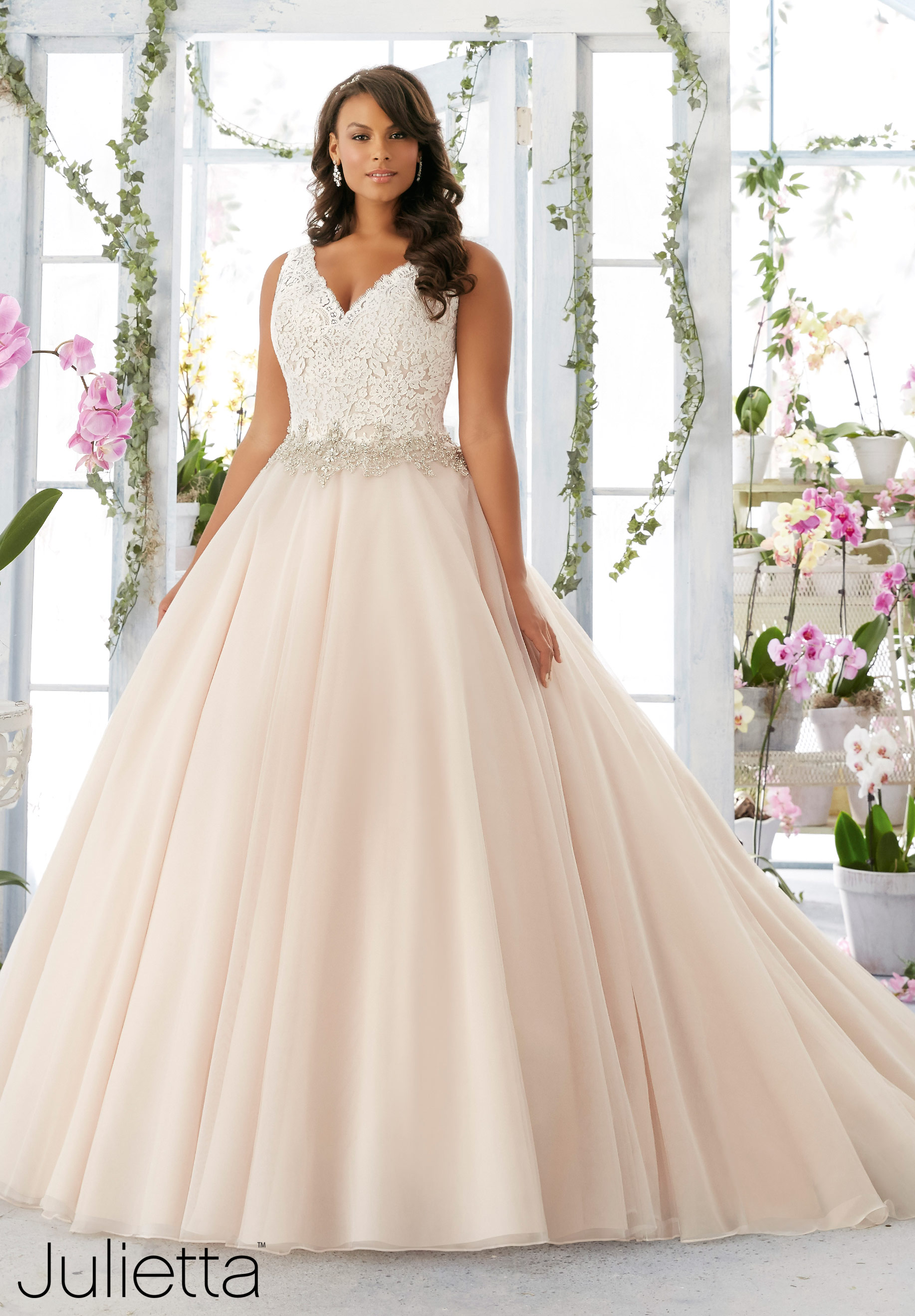 Plus Size Wedding Gown of the Day New Julietta