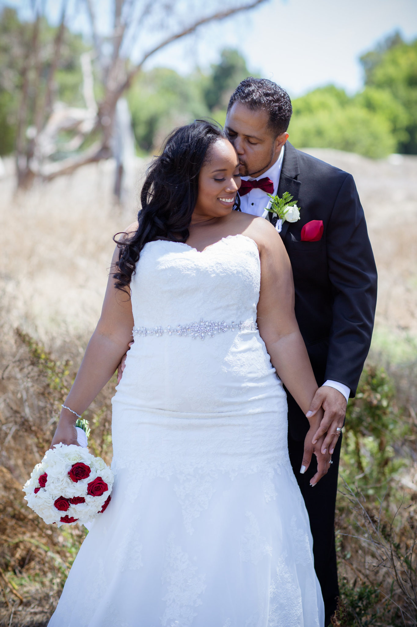REAL WEDDING  Red White and Black Wedding  Blossom Blue Photography  The Pretty Pear Bride