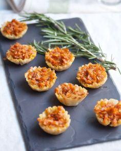 sweet potato brie bites