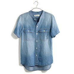 Madewell Perfect Chambray Sunday Shirt
