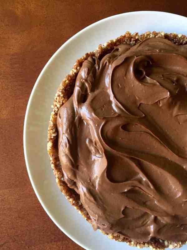 Min Chocolate Cream Pie