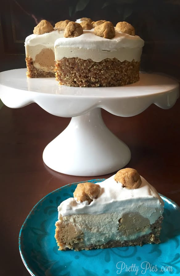 Cookie Dough Cheesecake | Pretty Pies