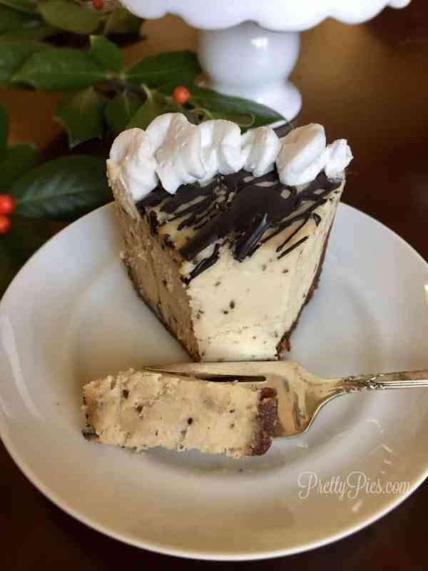 Mint Chip Vegan Cheesecake | Pretty Pies
