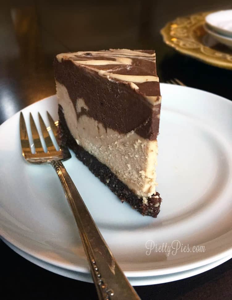 Peanut Butter Cup Cheesecake PrettyPies