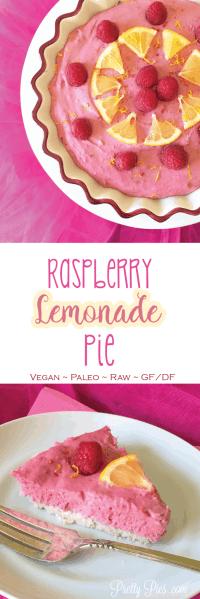 Raspberry Lemonade Pie | Pretty Pies