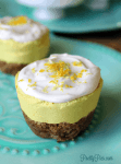 Low-Carb Lemon Ginger 'Cheesecake' (Vegan, Paleo, Keto) from PrettyPies.com