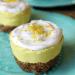 Low-Carb Lemon Ginger 'Cheesecake' (Vegan, Paleo, Keto) from PrettyPies.com