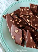 Healthy 'Nutella' Bark (Low-Carb, Vegan, Paleo) PrettyPies.com