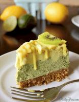 Lemon Lime Cheesecake (:ow-Carb, Vegan, Paleo) PrettyPies.com