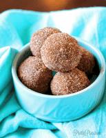 Cinnamon Sugar Donut Holes (Keto/Vegan/Paleo) PrettyPies.com