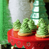 Christmas Tree Cookies (Paleo, Vegan, Keto) PrettyPies.com