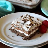 Chocolate Lasagna (Keto, Paleo, Vegan)
