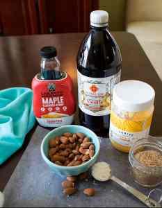 Vanilla Nut Bliss Balls Ingredients (keto, paleo, vegan) PrettyPies.com