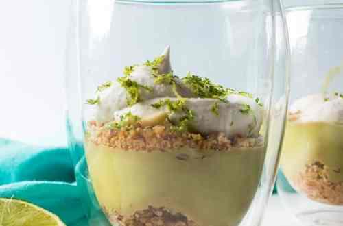 Key Lime Parfaits (Dairy-Free, Keto, Paleo, Vegan) PrettyPIes.com