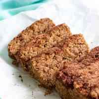 Low-Carb Cinnamon Bread (Grain-Free, Dairy-Free, Egg-Free)