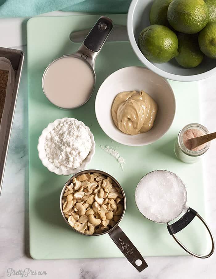 Lime Cheesecake Bites (Dairy-Free Keto Low-Carb Paleo Vegan) PrettyPies.com