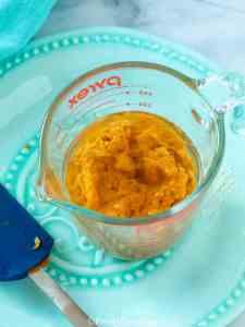 Pumpkin Bread wet ingredients