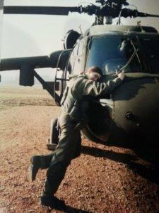 Blackhawk crew chief