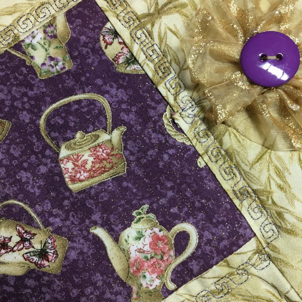 Teapot mug rug